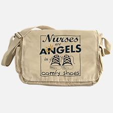 Nurses Are Angels Messenger Bag