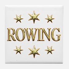 Rowing Stars Tile Coaster
