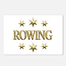 Rowing Stars Postcards (Package of 8)