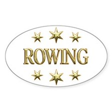 Rowing Stars Decal