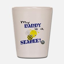 Daddy is a SeaBee Shot Glass
