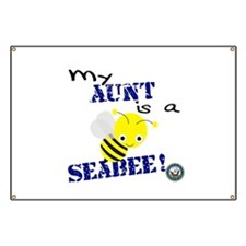 Aunt is a SeaBee Banner