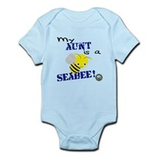 Aunt is a SeaBee Infant Bodysuit