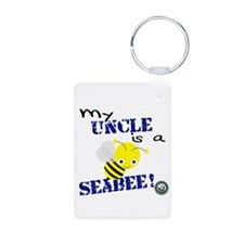 Uncle is a SeaBee Keychains