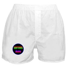 Lefties Rule Lefty Boxer Shorts