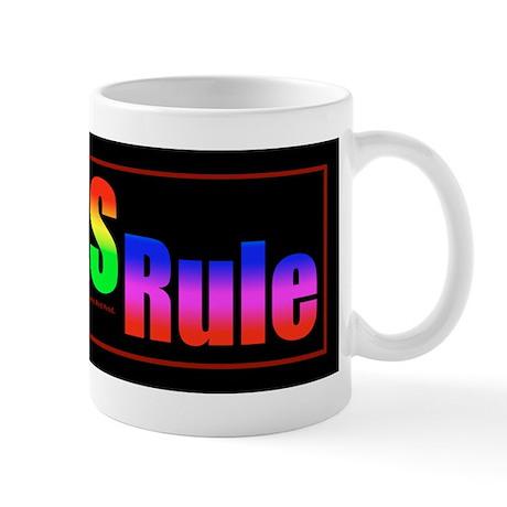 Lefties Rule Lefty Mug
