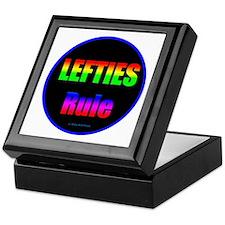Lefties Rule Lefty Keepsake Box