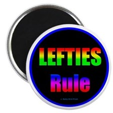 Lefties Rule Lefty Magnet