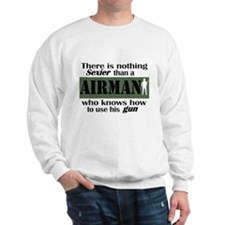 Nothing Sexier-Airman and his Sweatshirt