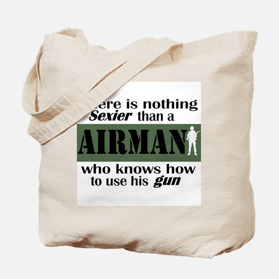 Nothing Sexier-Airman and his Tote Bag