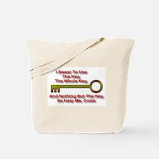 """""""The Key Rule"""" Tote Bag"""