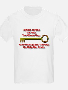 """The Key Rule"" Kids T-Shirt"