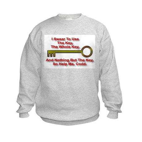 """""""The Key Rule"""" Kids Sweatshirt"""