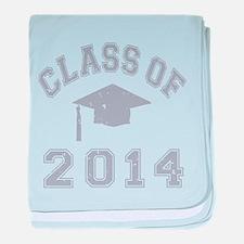 Class Of 2014 Graduation baby blanket