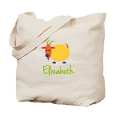 Elizabeth The Capricorn Goat Tote Bag