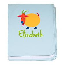 Elizabeth The Capricorn Goat baby blanket