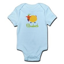 Elizabeth The Capricorn Goat Infant Bodysuit