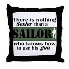 Nothing Sexier-Sailor and his Throw Pillow