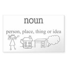 Noun Decal
