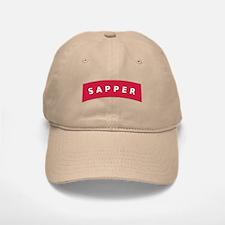 Sapper Tab Baseball Baseball Cap