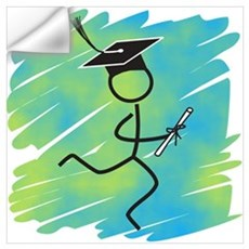 Graduate Runner Wall Decal