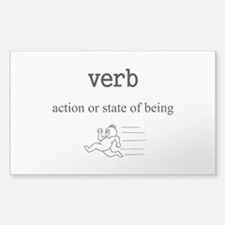 Verb Decal