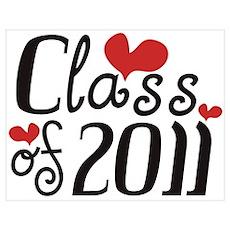Love (Heart) Class 2011 Poster