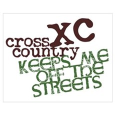 XC Keeps off Streets Framed Print