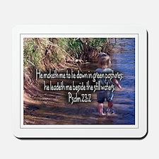 Psalm 23:2 Mousepad