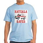HATZALA SAVES Ash Grey T-Shirt