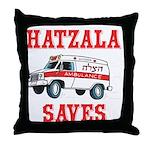 HATZALA SAVES Throw Pillow