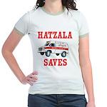 HATZALA SAVES Jr. Ringer T-Shirt