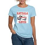 HATZALA SAVES Women's Pink T-Shirt