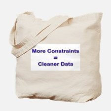 """Keep Your Data Clean"" Tote Bag"