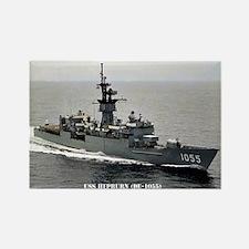 USS HEPBURN Rectangle Magnet