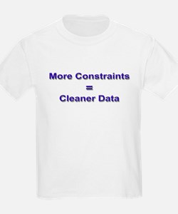 """Keep Your Data Clean"" Kids T-Shirt"