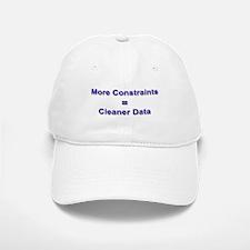 """Keep Your Data Clean"" Baseball Baseball Cap"