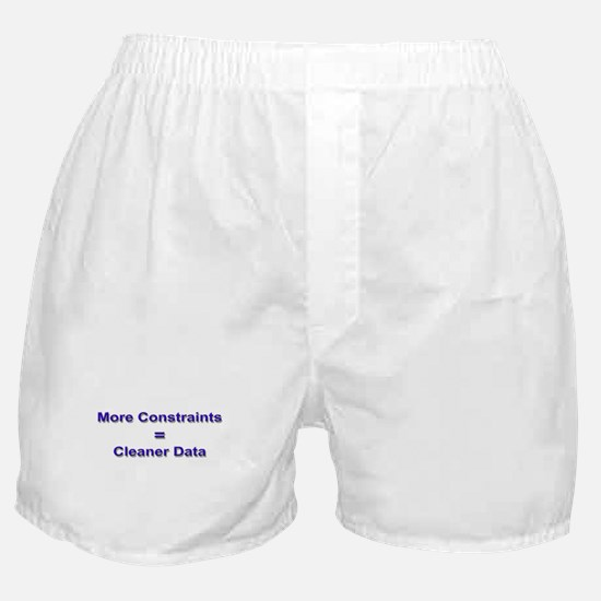 """""""Keep Your Data Clean"""" Boxer Shorts"""