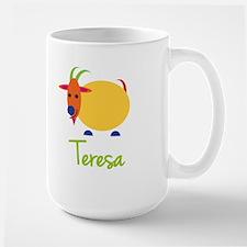 Teresa The Capricorn Goat Ceramic Mugs