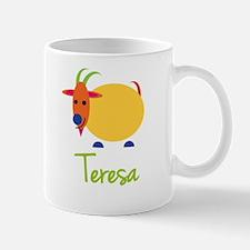 Teresa The Capricorn Goat Small Mugs