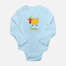 Teresa The Capricorn Goat Long Sleeve Infant Bodys