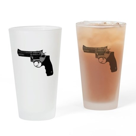 Revolver Drinking Glass
