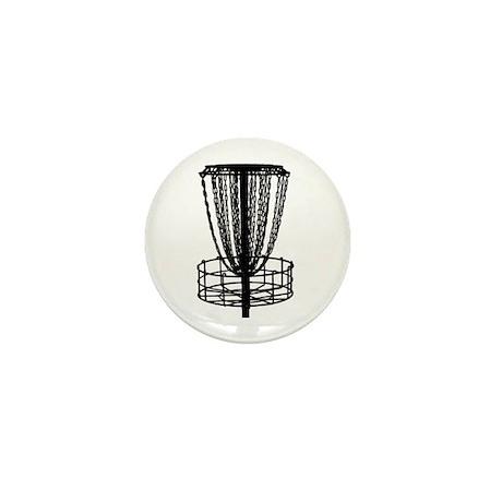 Disc Golf Catcher - Mini Button