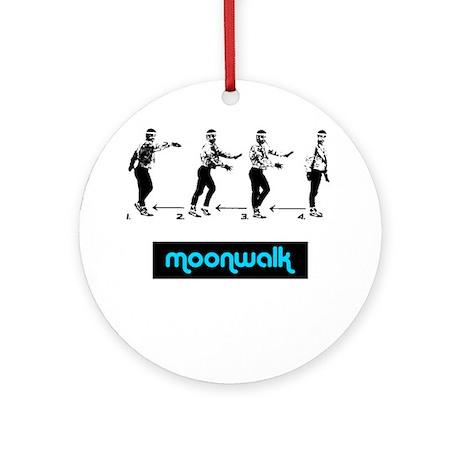 Moonwalk 02 Ornament (Round)