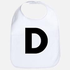 Letter D Bib