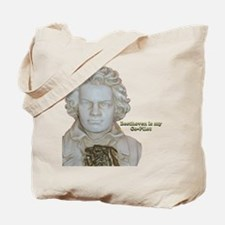 """""""Beethoven is my Co-Pilot"""" Tote Bag"""
