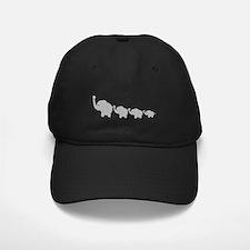 Elephants Design Baseball Hat