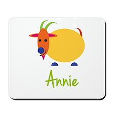 Annie The Capricorn Goat Mousepad
