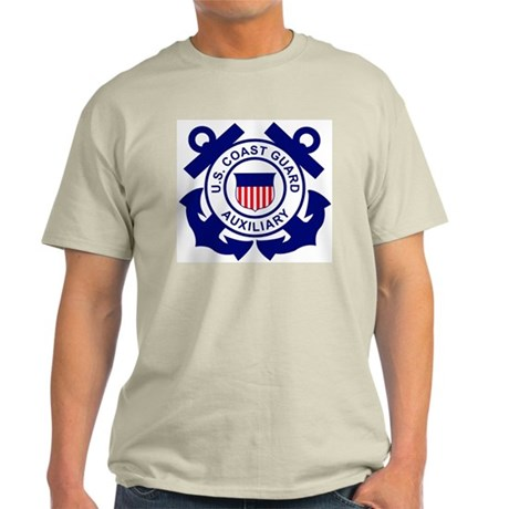 Coast Guard Auxiliary<BR> Grey T-Shirt 1
