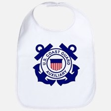 Coast Guard Auxiliary<BR> Baby Bib